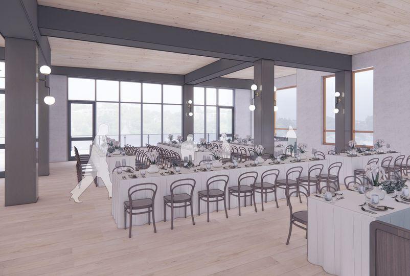 Lark Restaurant Banquet Set