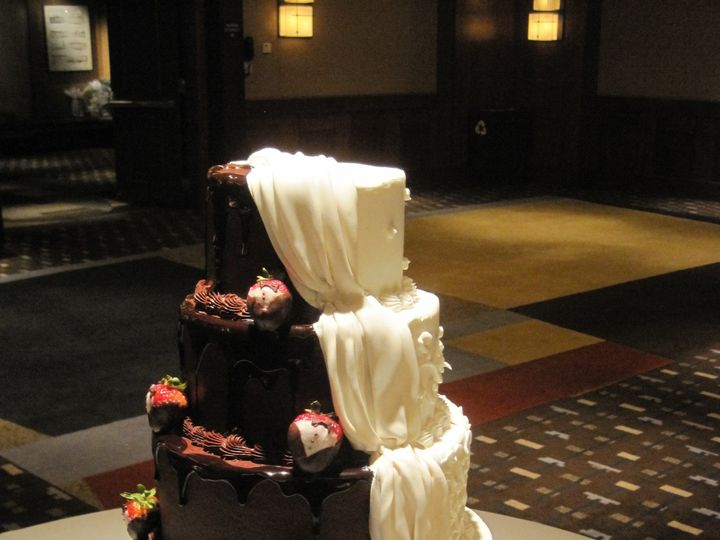 Tmx 1387553548731 Img465 Dallas, Texas wedding cake