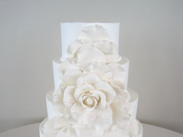 Tmx 1460289660304 Bridal3 Dallas, Texas wedding cake