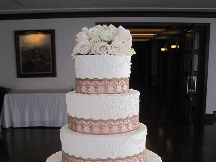 Tmx 1460289765018 Bridal4 Dallas, Texas wedding cake