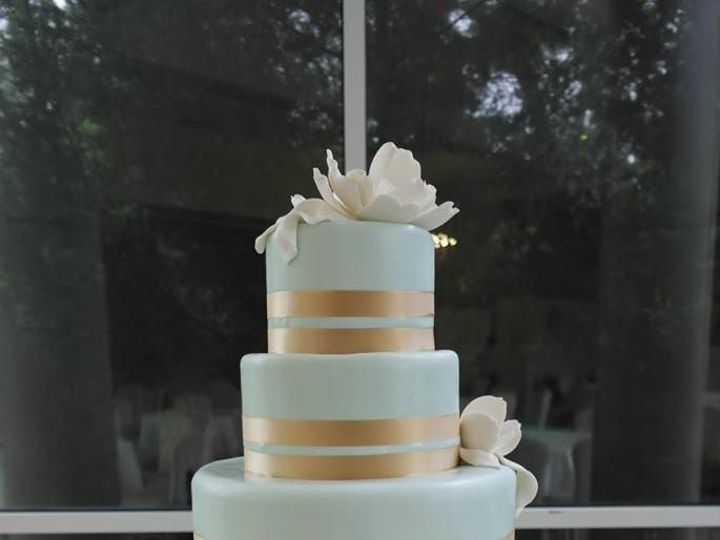 Tmx 1460289975208 Bridal6 Dallas, Texas wedding cake