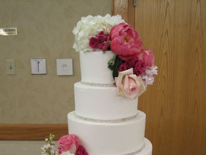 Tmx 1460289983869 Bridal7 Dallas, Texas wedding cake
