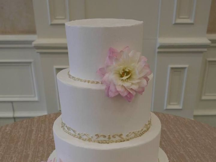 Tmx 1460289991508 Bridal9 Dallas, Texas wedding cake