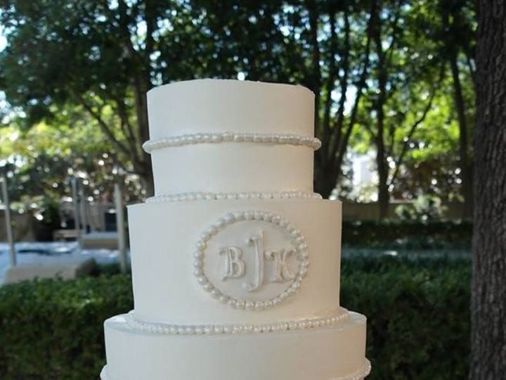 Tmx 1460290007952 Bridal12 Dallas, Texas wedding cake
