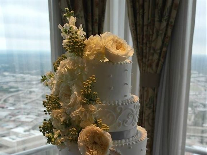 Tmx 1460290017836 Bridal13 Dallas, Texas wedding cake