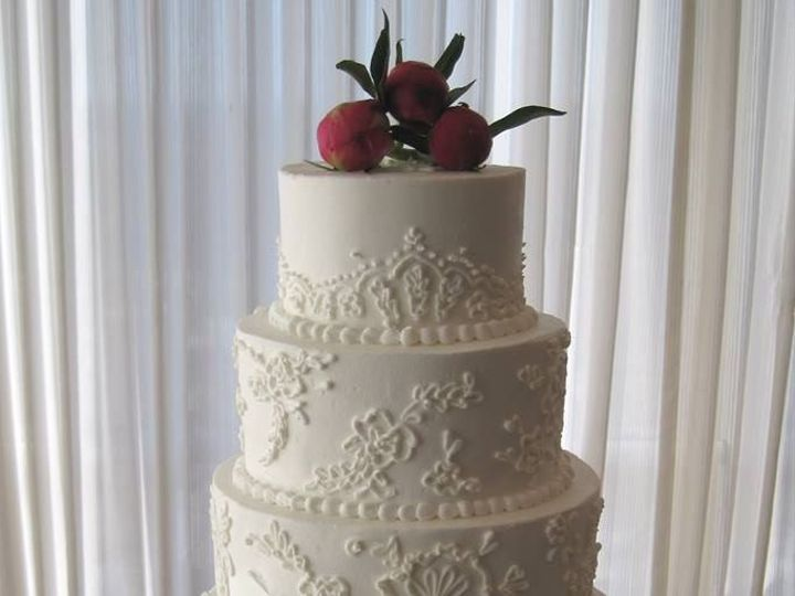 Tmx 1460290044019 Bridal17 Dallas, Texas wedding cake