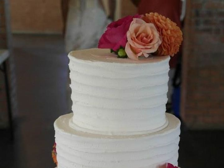 Tmx 1460290050233 Bridal18 Dallas, Texas wedding cake