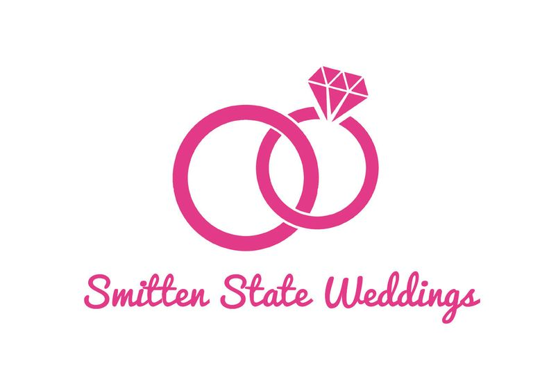 e2baa4ea554b7cf5 Smitten State Weddings Logo White