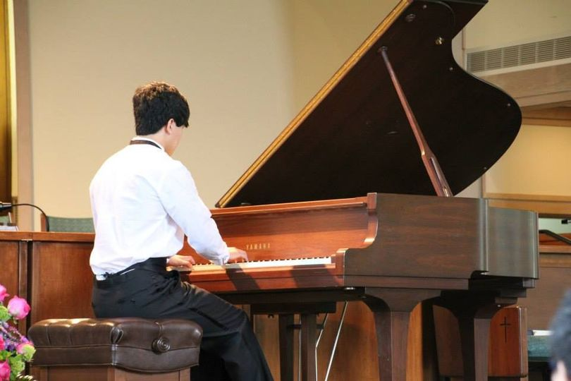Solo recital performance
