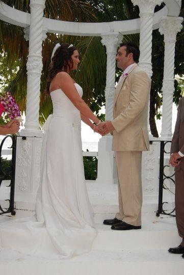 A beautiful destination wedding