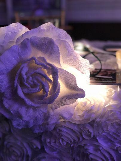White Rose Decor