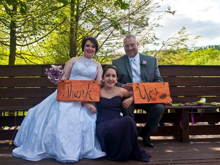 Tmx 1438365226135 Michelle And Bretts Thank You Card Picture Tobyhanna, PA wedding planner
