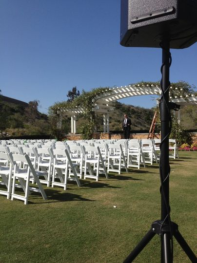 Black Gold Country Club   * Ceremony Setup: Includes 1 powered speaker, 1 Wireless microphone, &...
