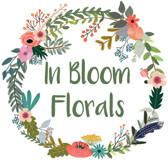 In Bloom Florals Logo