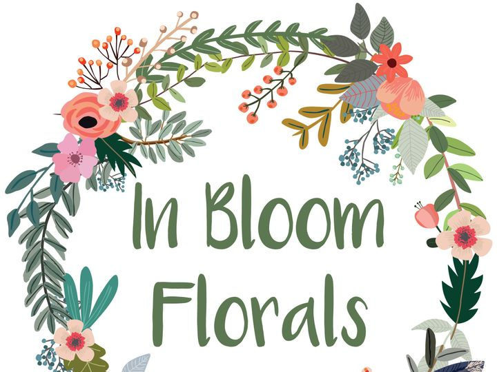 Tmx 1515007975 E2822c6a37709403 In Bloom Florals Logo LARGE JPG FOR WEB USE ONLY Canandaigua, NY wedding florist