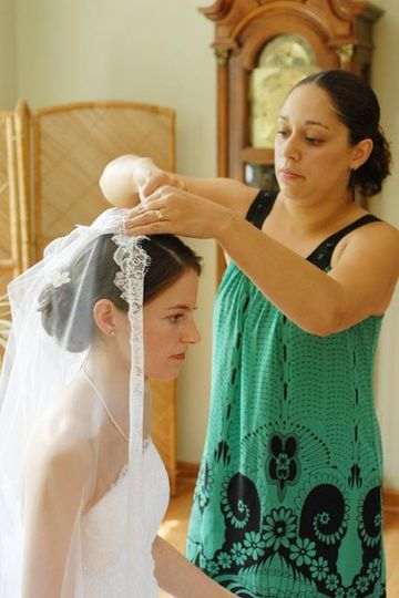 Getting ready - Tina Marie Photography