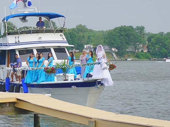 Tmx 1435808583044 Bride Arriving To Venue By Boat Glen Burnie, MD wedding venue