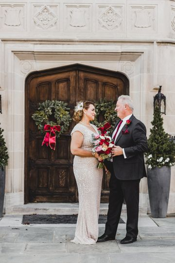 Couple at Harweldon Mansion