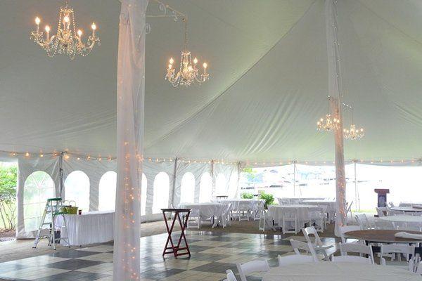 Tmx 1303957476014 InncenterpolesChandelierswebsize Bloomfield wedding rental