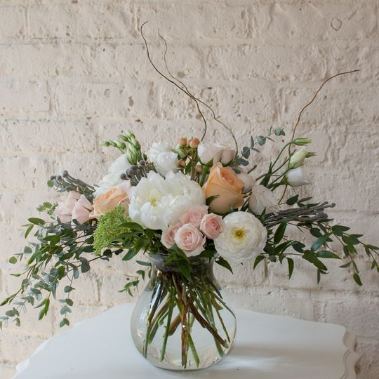 Blush with Ivory