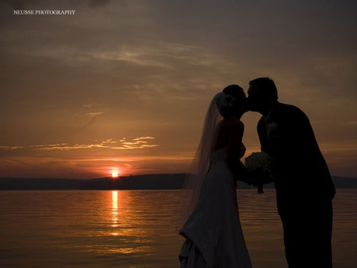 Tmx 1378394572725 Sunsetlakekiss Hawley, PA wedding venue