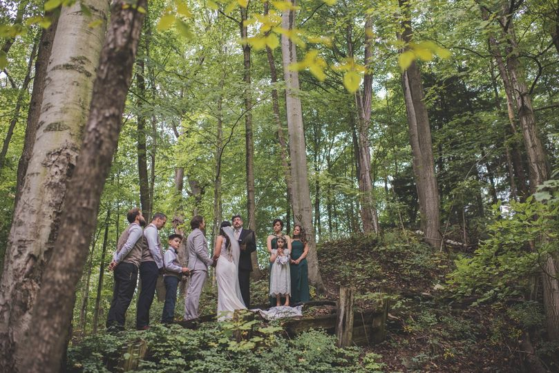 Wooded Elopement