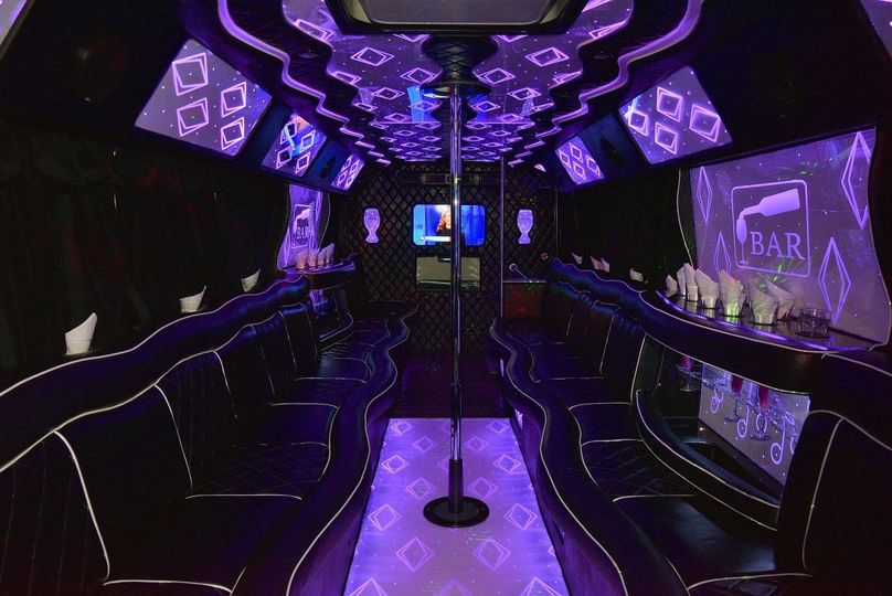 Party bus for 25-30 passengers