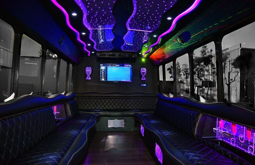 20-passenger party bus