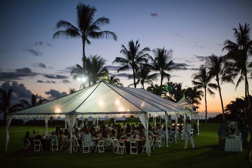 Ocean garden reception