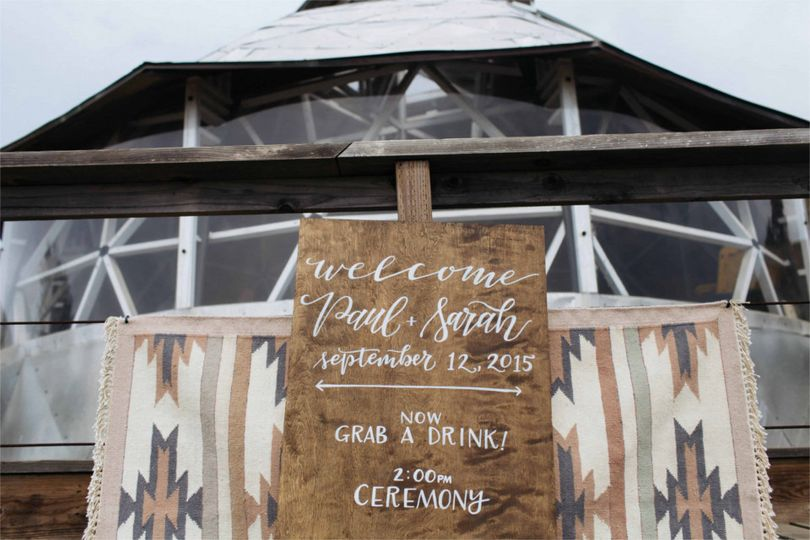 rustic beach wedding welcome sign wood sign