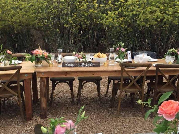 rustic beach wedding fiesta wood sign head table