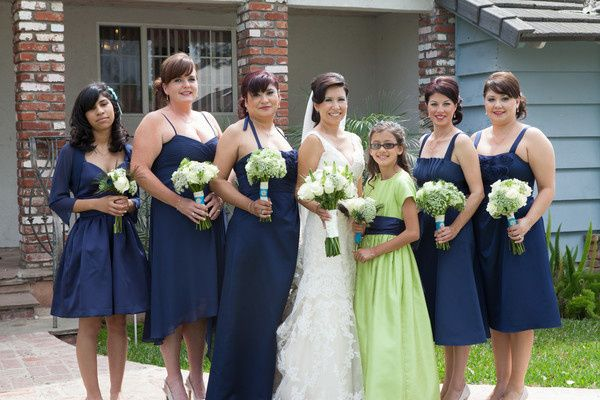 makeup done for whole bridal party