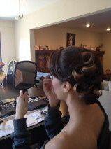 hair for wedding/bridesmaid