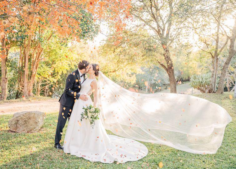 Fredericksberg fall wedding