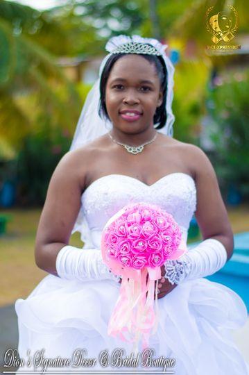 My gorgeous bride