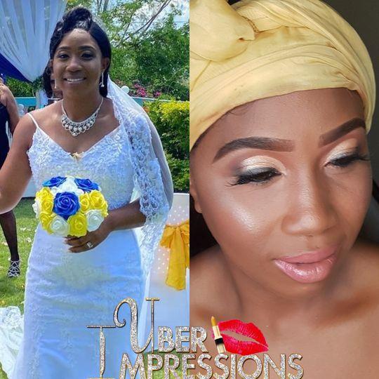 Elegant bridal beauty