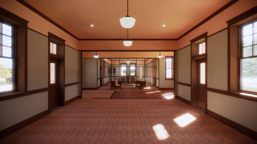 Depot Interior