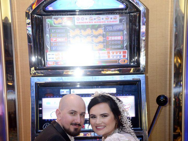 Tmx Brida Milanese In Front Of Slot Machine Smiling 51 727795 160737375134547 Atlantic City, NJ wedding venue