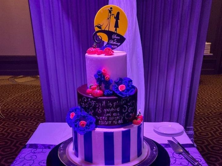 Tmx Nightmare Before Christmas Cake 51 727795 160737362230973 Atlantic City, NJ wedding venue
