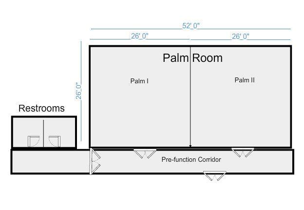 palmroom layou