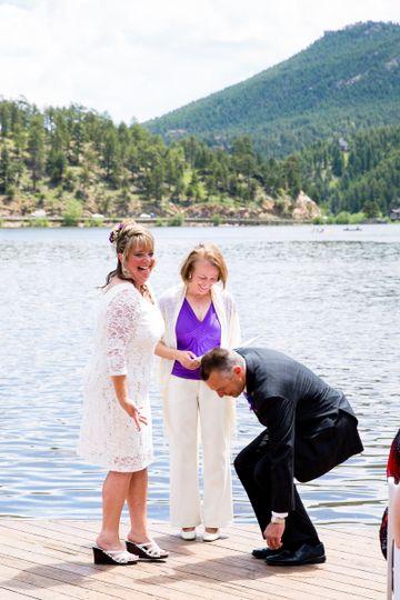 Outdoor wedding   Jaimie Johnson Photography