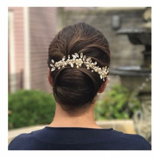 Embellished hair piece