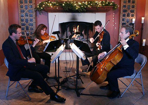 The Giovanni String Quartet at Casa Rondena Winery.