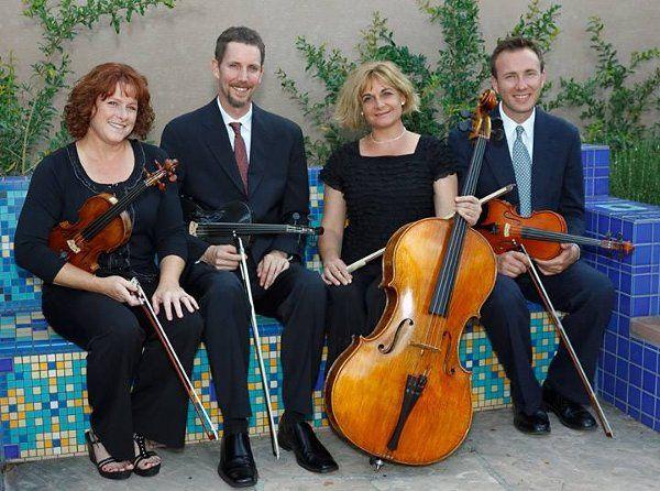 The Giovanni String Quartet of Albuquerque, wedding and special event music.