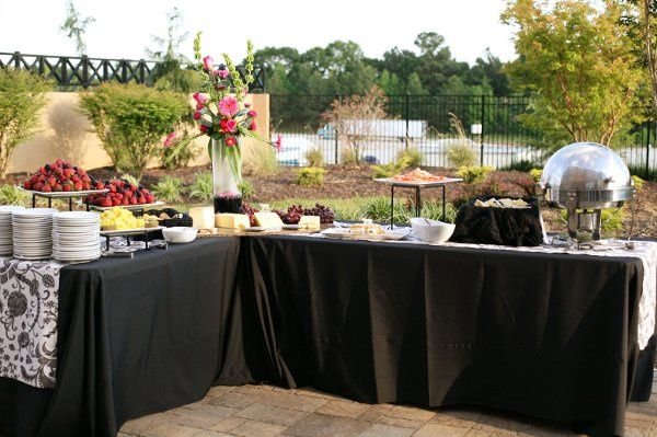 Outdoor Set up @ Courtyard Mcdonough Hotel