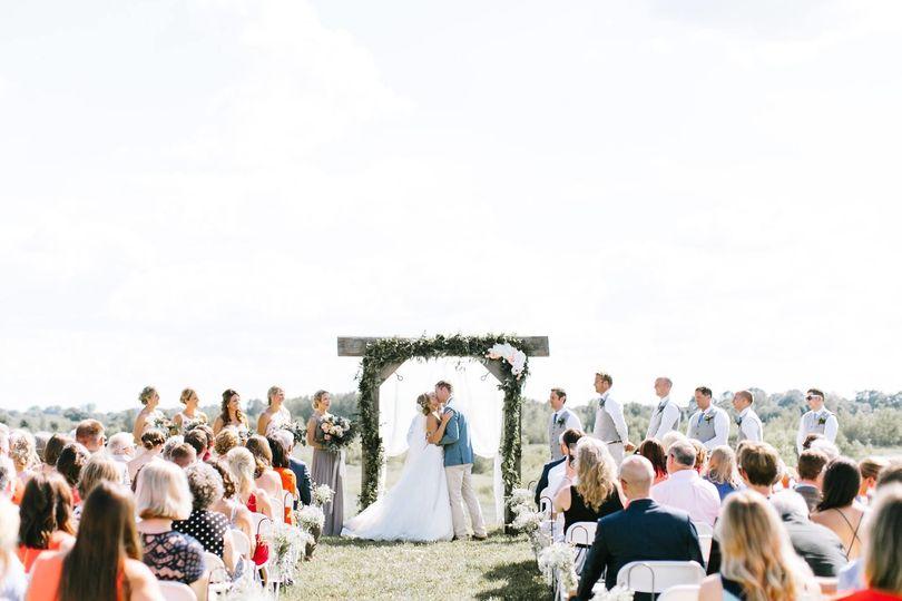 Reception Area Wedding Ceremony