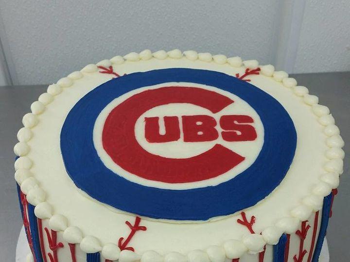 Tmx 1492792972050 Cubs Greenwood, Indiana wedding cake