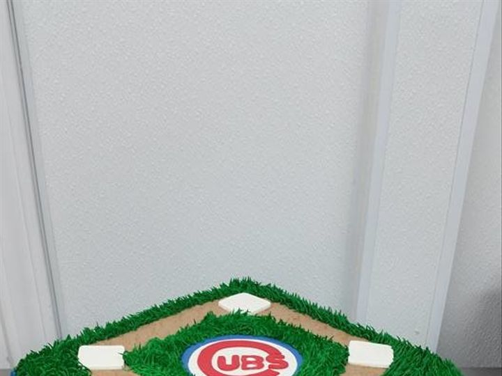 Tmx 1492792980886 Cubsballpark Greenwood, Indiana wedding cake