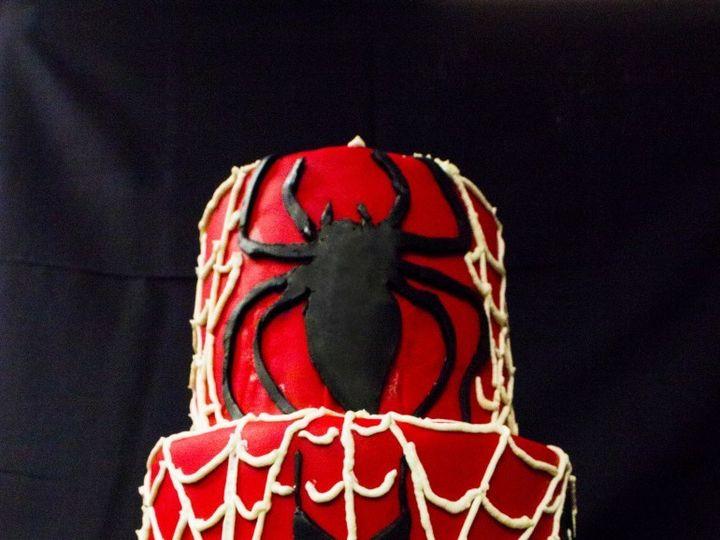 Tmx 1492793529223 Spidermancake 770x1024 Greenwood, Indiana wedding cake