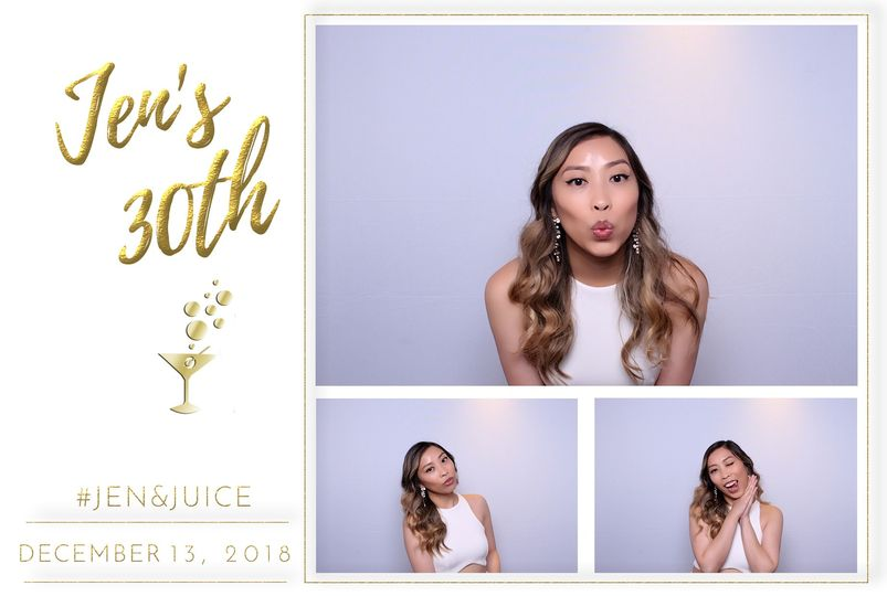 Glam booth